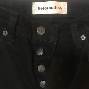 """Reformation """"skinny French""""  jeans"""